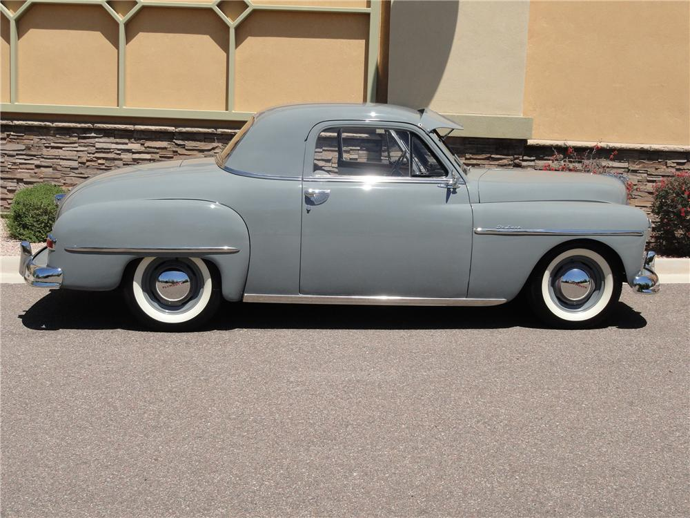 1950 PLYMOUTH DELUXE 2 DOOR COUPE - Side Profile - 108319