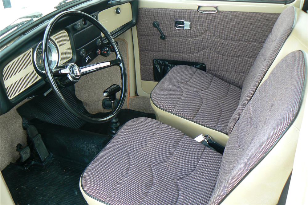 1968 VOLKSWAGEN BEETLE CUSTOM 2 DOOR - Interior - 108323