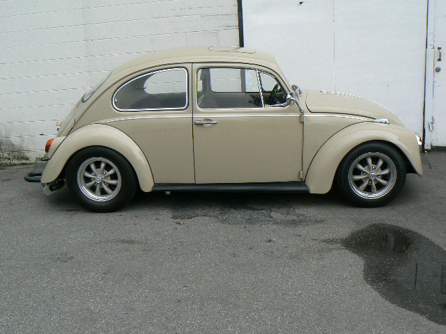 1968 VOLKSWAGEN BEETLE CUSTOM 2 DOOR - Side Profile - 108323