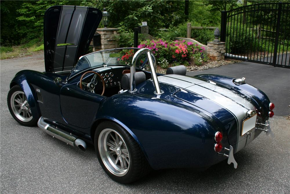 2006 FACTORY FIVE SHELBY COBRA RE-CREATION ROADSTER - Rear 3/4 - 108385