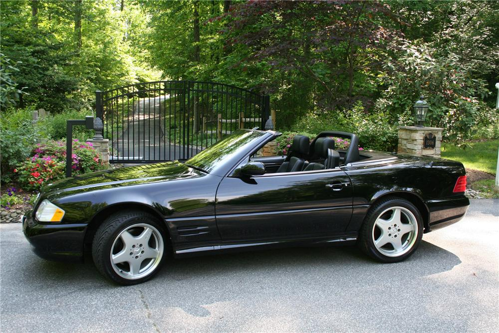 2002 mercedes benz sl500 convertible 108388 for Mercedes benz sl roadster