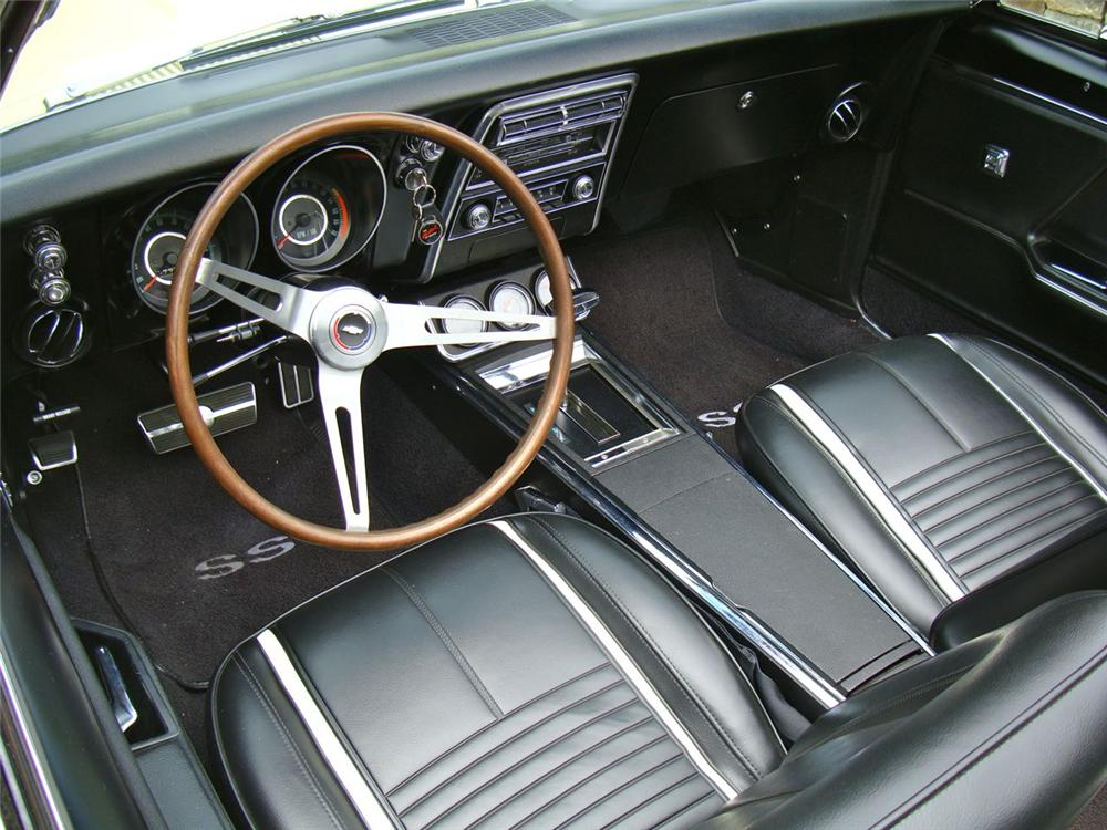1967 CHEVROLET CAMARO RS/SS CONVERTIBLE - Interior - 108392