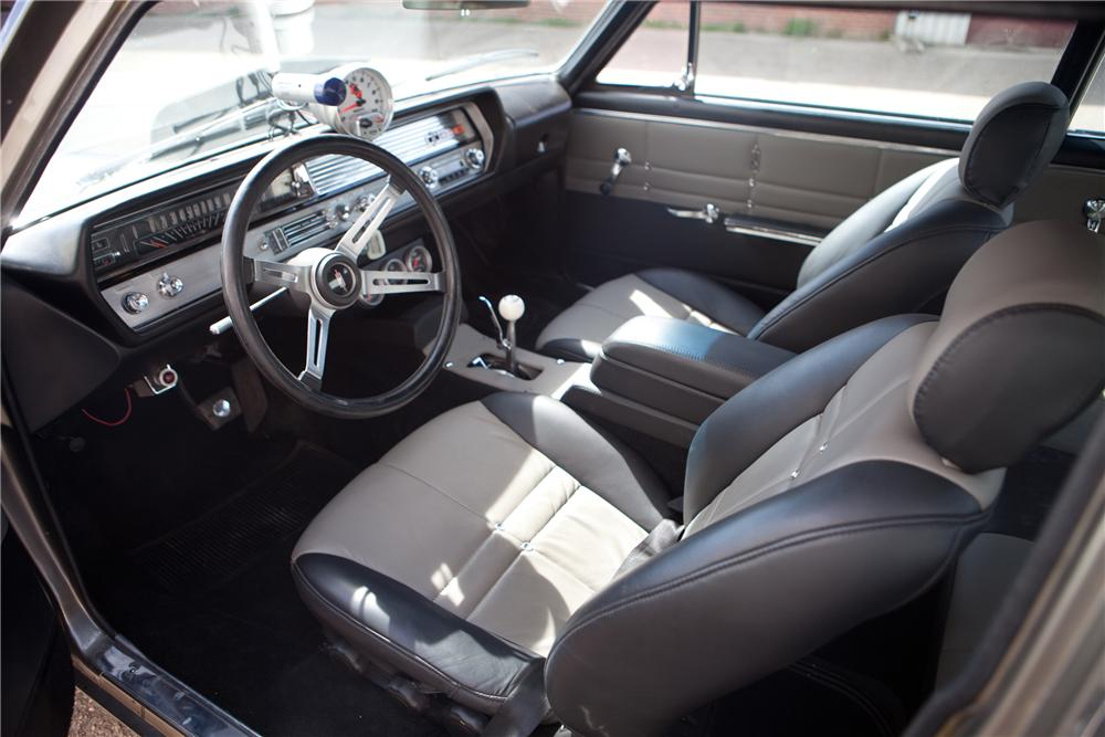 1965 OLDSMOBILE CUTLASS CUSTOM SPORTS COUPE - Interior - 108429