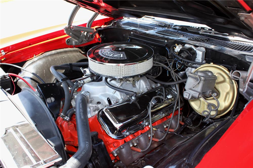 1971 CHEVROLET CHEVELLE SS 2 DOOR COUPE - Engine - 108437