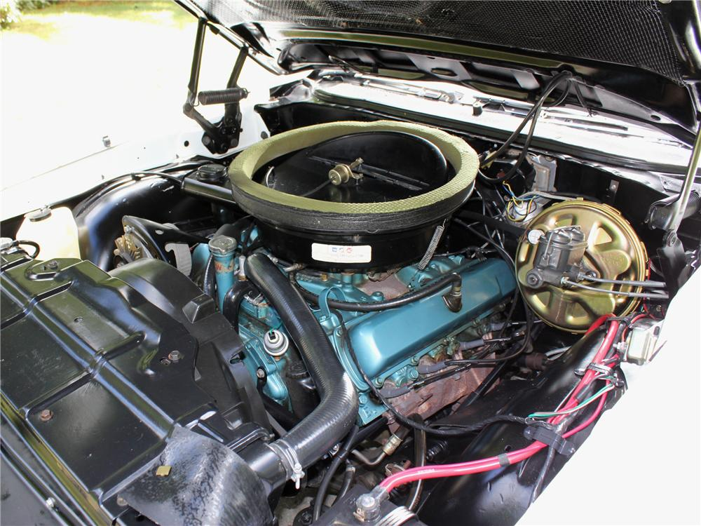 1970 OLDSMOBILE 442 PACE CAR CONVERTIBLE - Engine - 108442