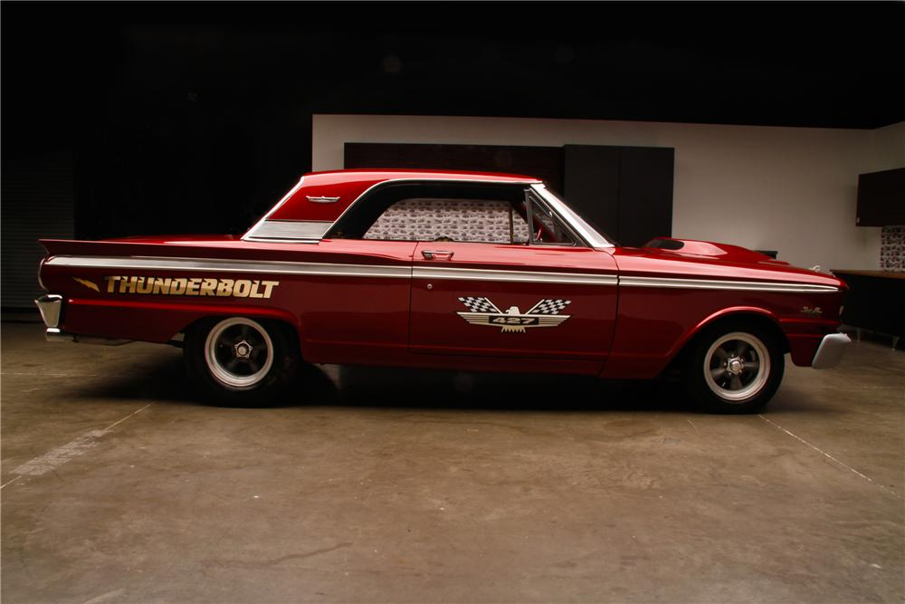 1963 FORD FAIRLANE 500 THUNDERBOLT RE-CREATION - Side Profile - 108444