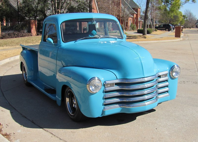 1948 CHEVROLET 3100 CUSTOM PICKUP - Front 3/4 - 108446