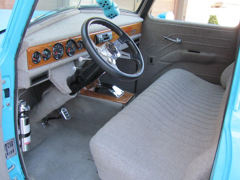 1948 CHEVROLET 3100 CUSTOM PICKUP - Interior - 108446