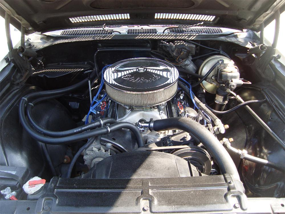 1969 CHEVROLET CHEVELLE MALIBU CONVERTIBLE - Engine - 108455
