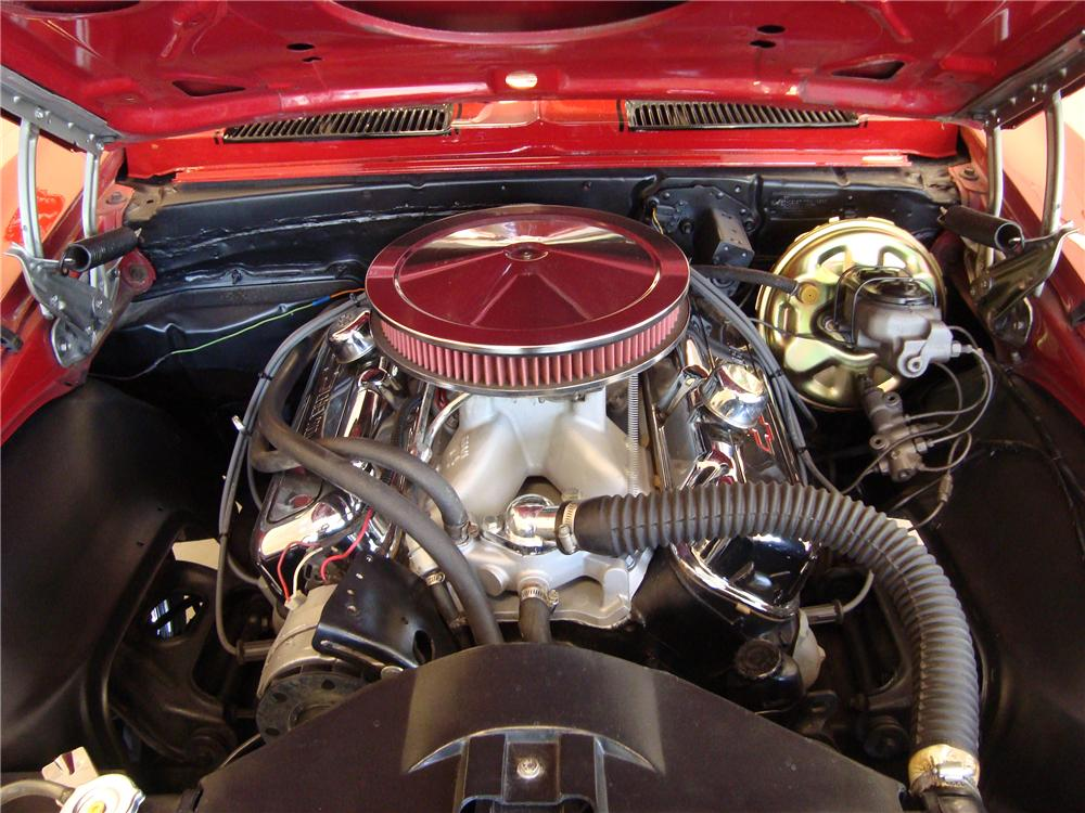 1968 CHEVROLET CAMARO 2 DOOR CUSTOM COUPE - Engine - 108456