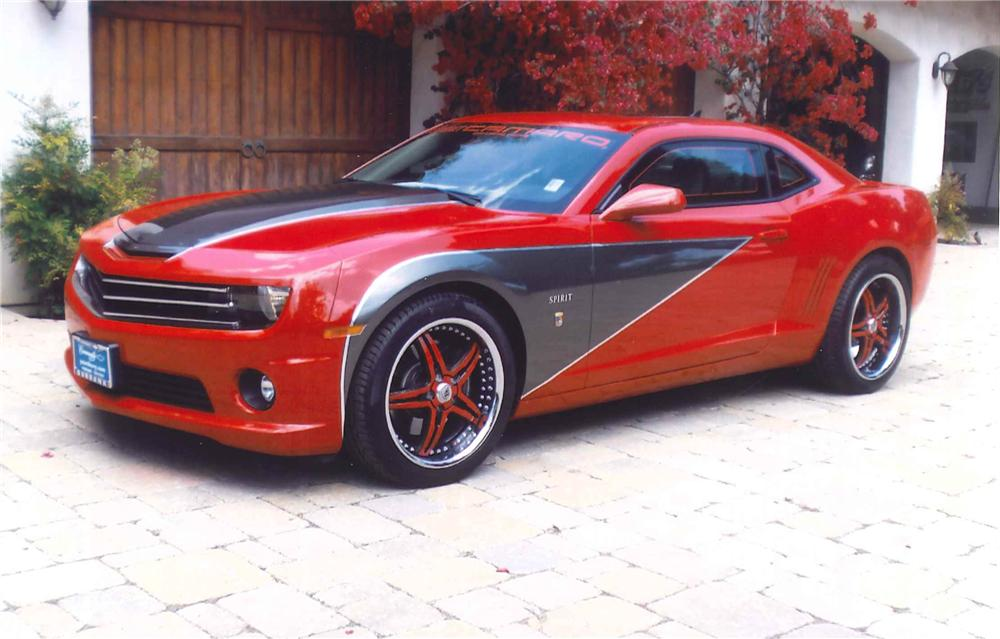 2010 CHEVROLET CAMARO SS 2 DOOR CUSTOM COUPE - Front 3/4 - 108460