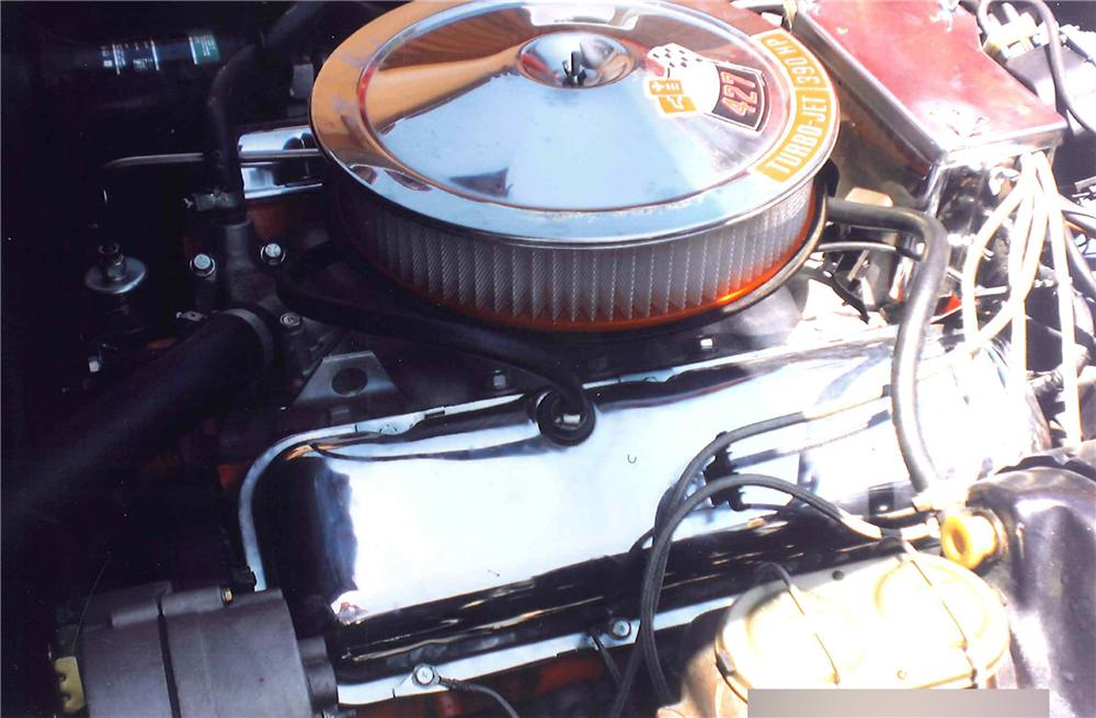 1968 CHEVROLET CORVETTE 2 DOOR COUPE - Engine - 108463
