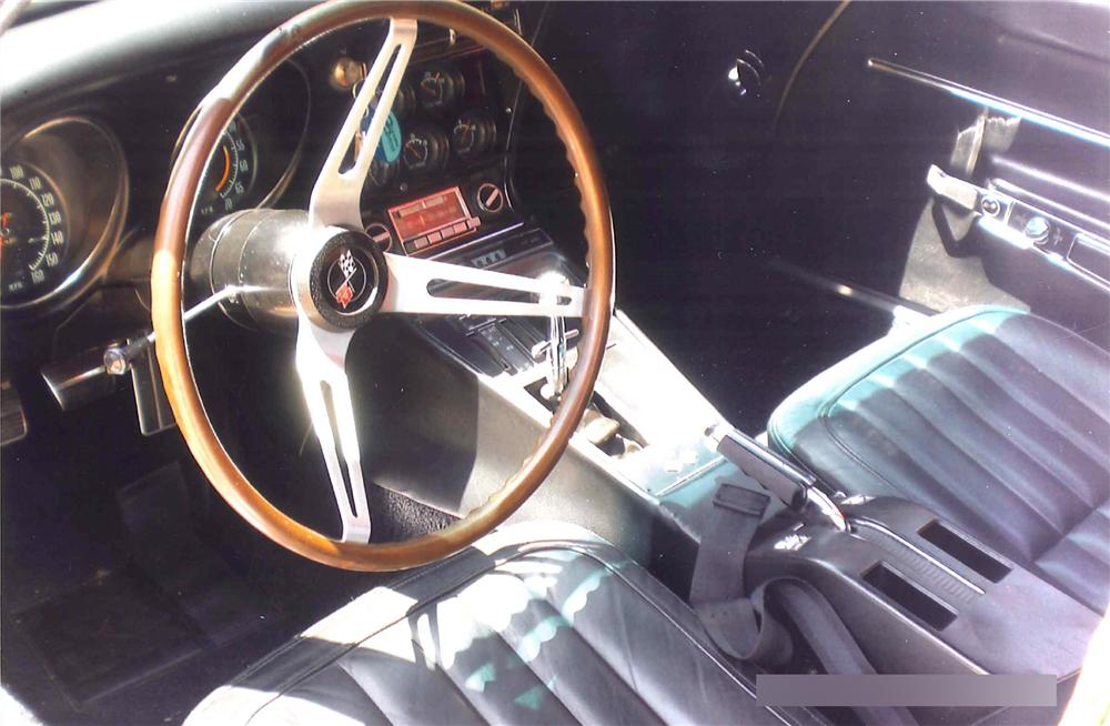 1968 CHEVROLET CORVETTE 2 DOOR COUPE - Interior - 108463