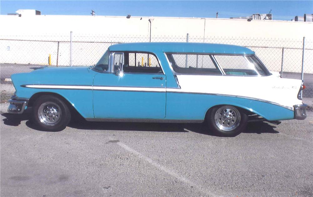 1956 CHEVROLET NOMAD CUSTOM WAGON - Side Profile - 108468