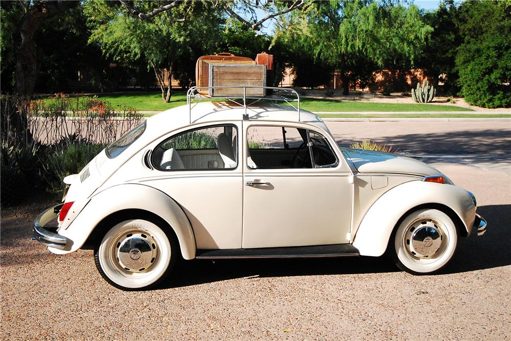 1971 VOLKSWAGEN SUPER BEETLE 2 DOOR - Side Profile - 108471