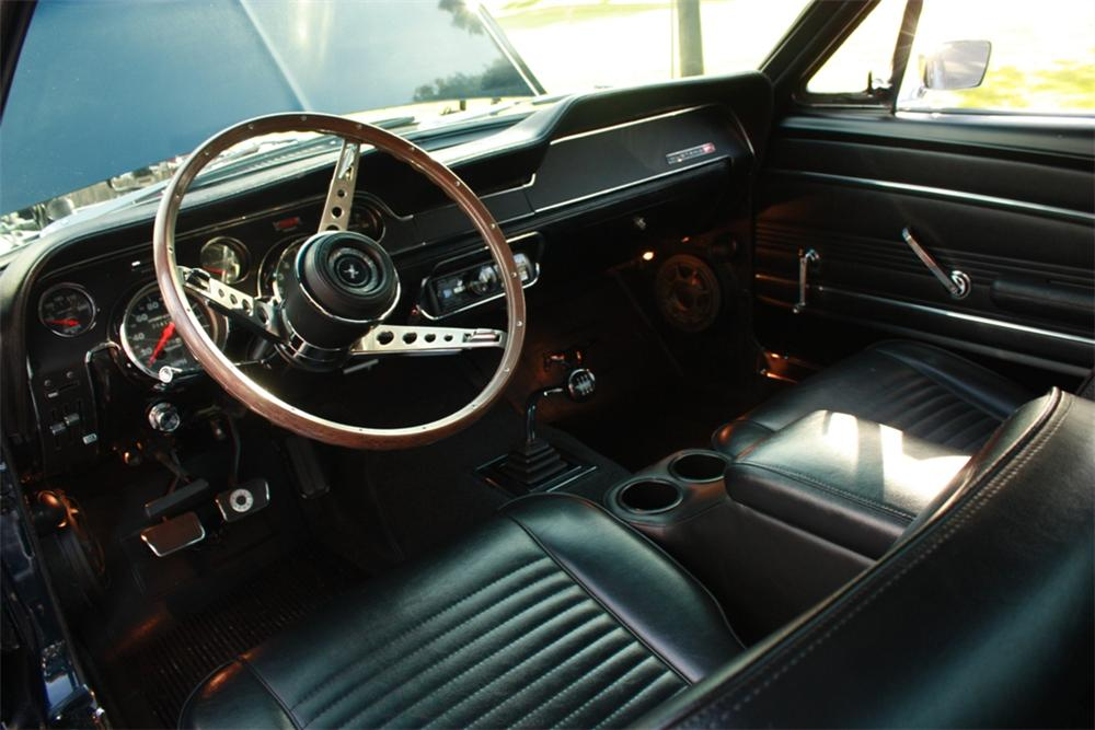 1967 FORD MUSTANG CUSTOM FASTBACK - Interior - 108474