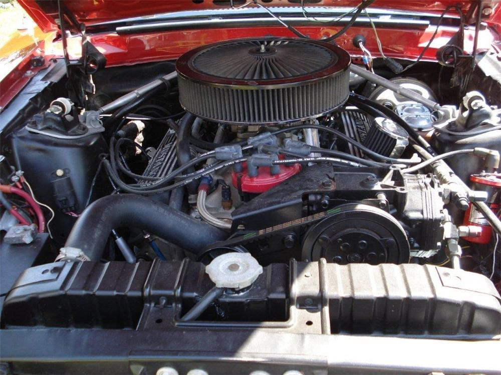 1969 FORD MUSTANG MACH 1 2 DOOR FASTBACK - Engine - 108479
