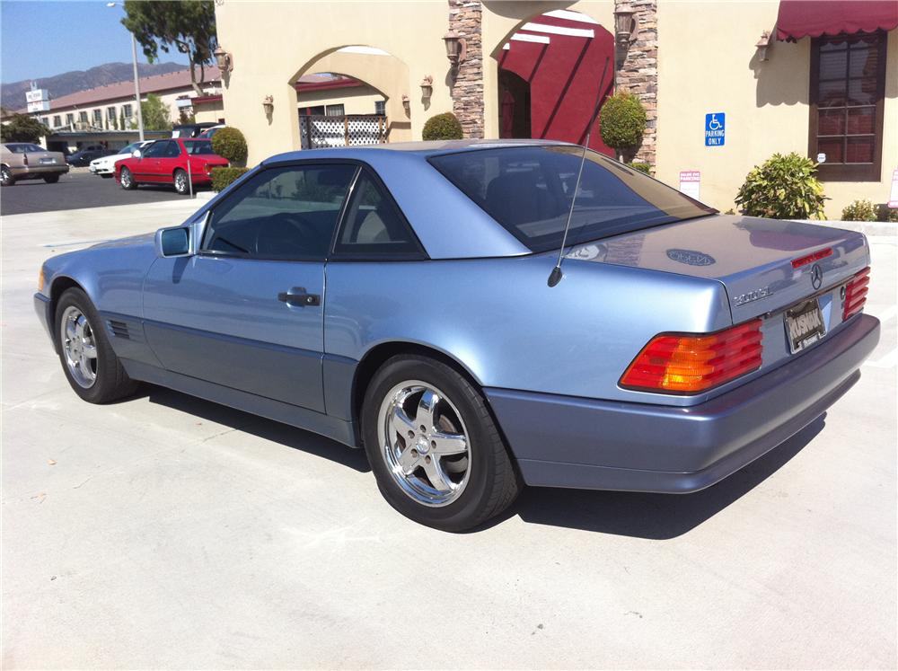 1992 MERCEDES-BENZ 300SL ROADSTER - Rear 3/4 - 108480