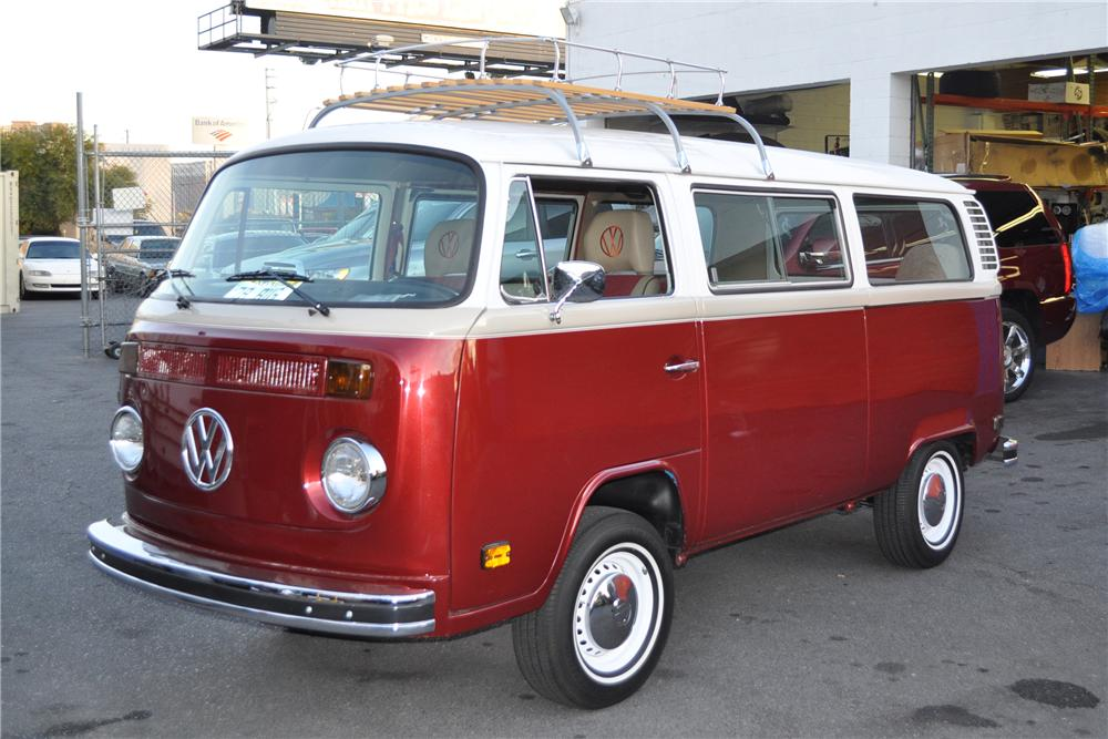 1978 VOLKSWAGEN TRANSPORTER CUSTOM BUS - 108658