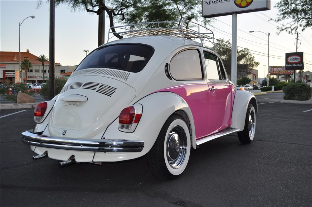 1972 VOLKSWAGEN BEETLE 2 DOOR CUSTOM COUPE - Rear 3/4 - 108659