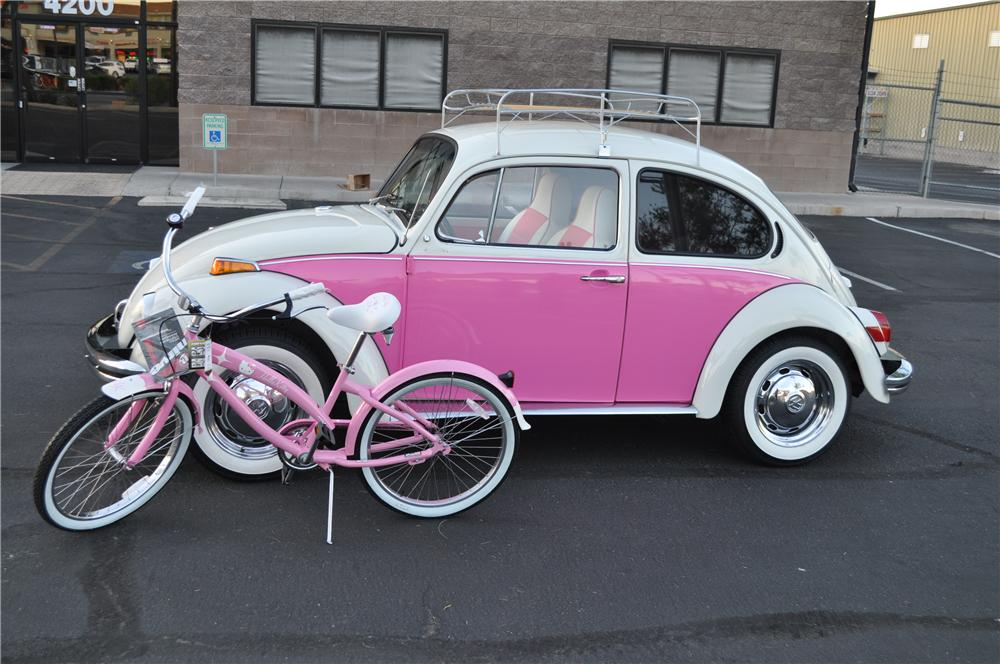 1972 VOLKSWAGEN BEETLE 2 DOOR CUSTOM COUPE - Side Profile - 108659