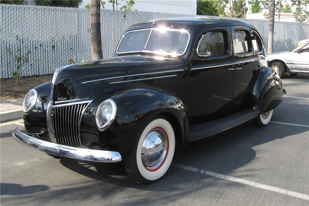 1939 ford deluxe 4 door custom sedan 108696