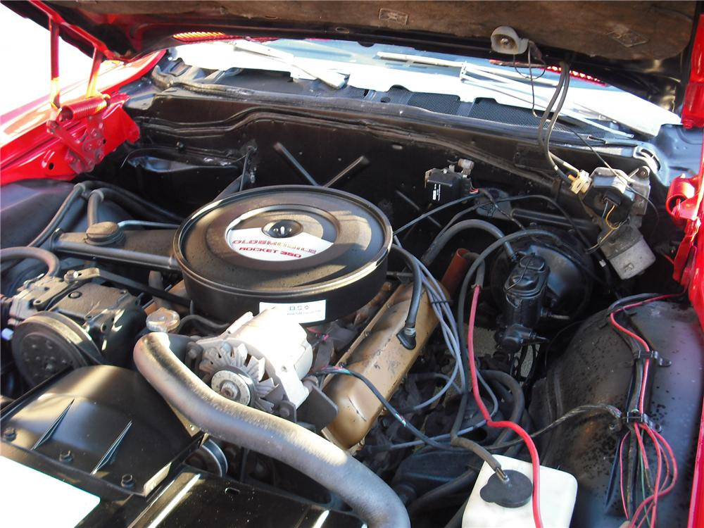 1970 OLDSMOBILE DELTA 88 CONVERTIBLE - Engine - 108697