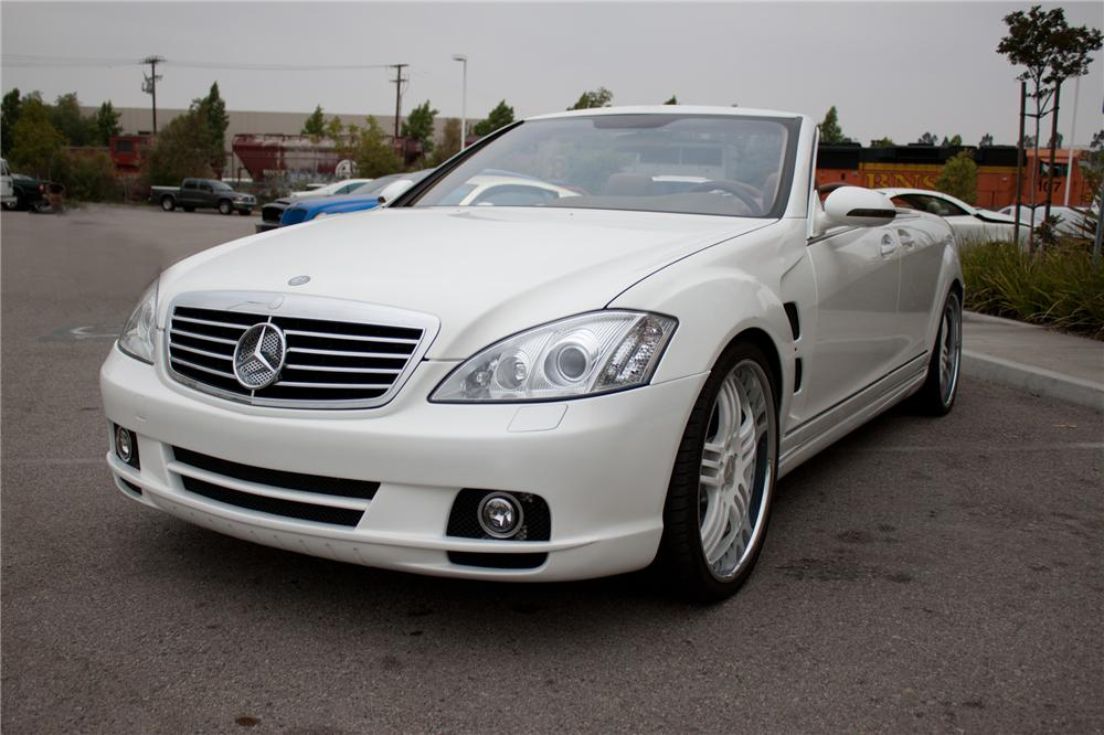 2006 MERCEDES-BENZ S550 CUSTOM CONVERTIBLE - Front 3/4 - 108699