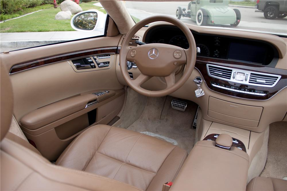 2006 MERCEDES-BENZ S550 CUSTOM CONVERTIBLE - Interior - 108699