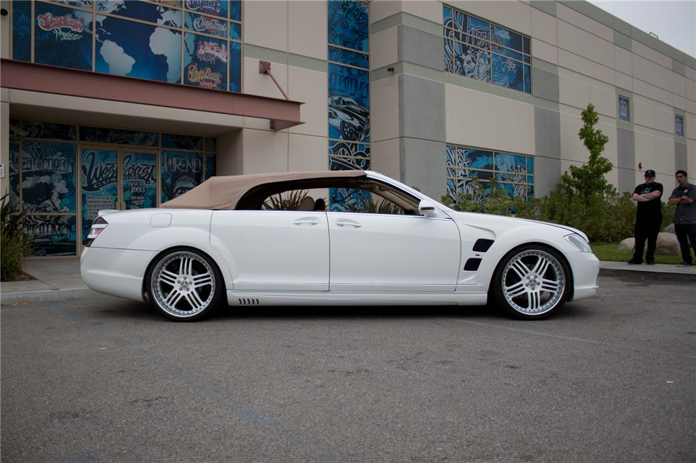 2006 MERCEDES-BENZ S550 CUSTOM CONVERTIBLE - Side Profile - 108699