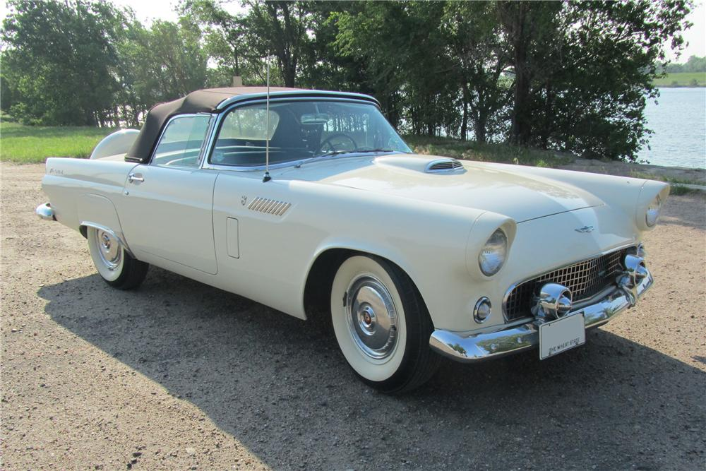 1956 FORD THUNDERBIRD CONVERTIBLE - Front 3/4 - 108701