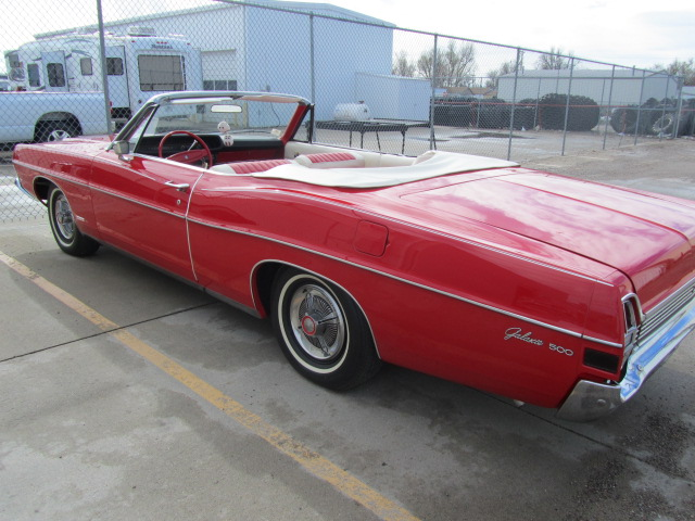 1968 FORD GALAXIE 500 CONVERTIBLE - Rear 3/4 - 108702
