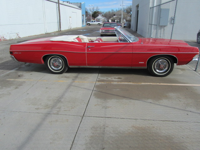 1968 FORD GALAXIE 500 CONVERTIBLE - Side Profile - 108702
