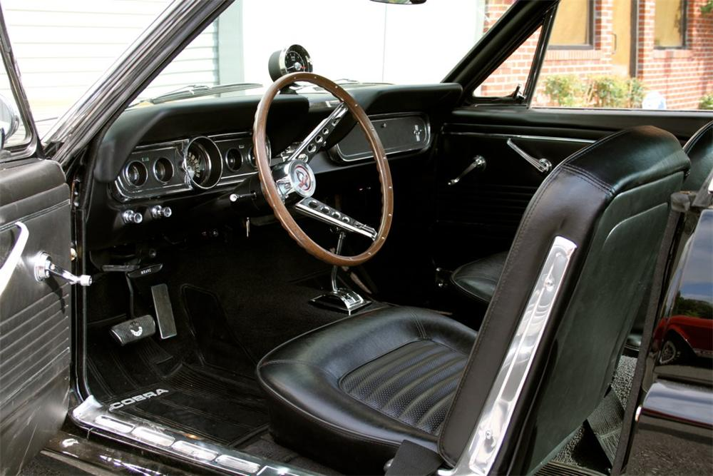 1966 SHELBY GT350 H 2 DOOR FASTBACK - Interior - 108718