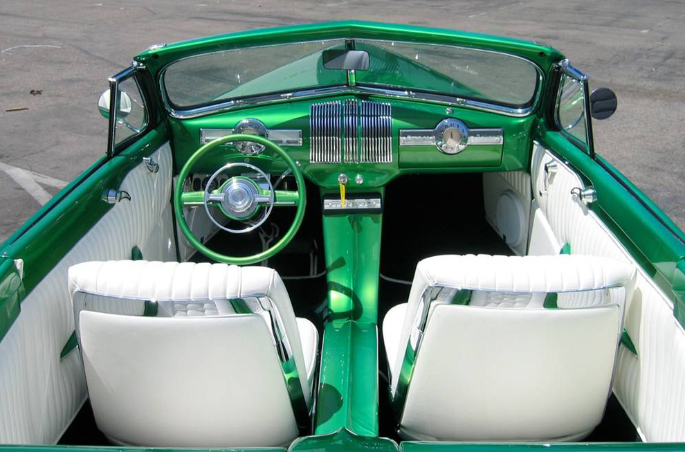 1940 PONTIAC CUSTOM CONVERTIBLE - Interior - 108726