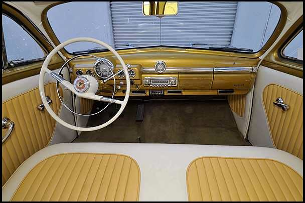 1950 MERCURY CUSTOM WOODY WAGON - Interior - 108727