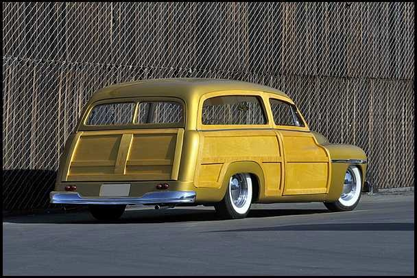 1950 MERCURY CUSTOM WOODY WAGON - Rear 3/4 - 108727