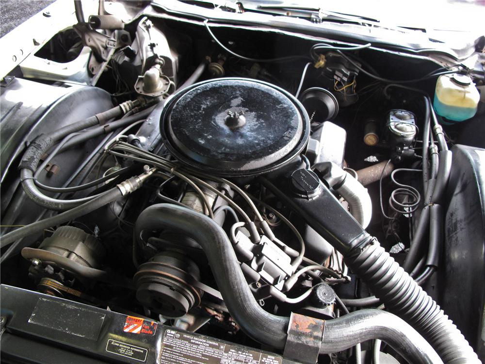 1976 CADILLAC ELDORADO CONVERTIBLE - Engine - 108730