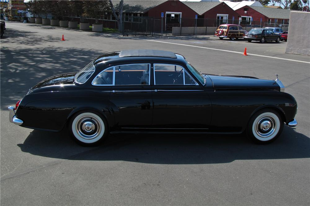 1964 ROLLS-ROYCE SILVER CLOUD III JAMES YOUNG 4 DOOR SEDAN - Side Profile - 108731