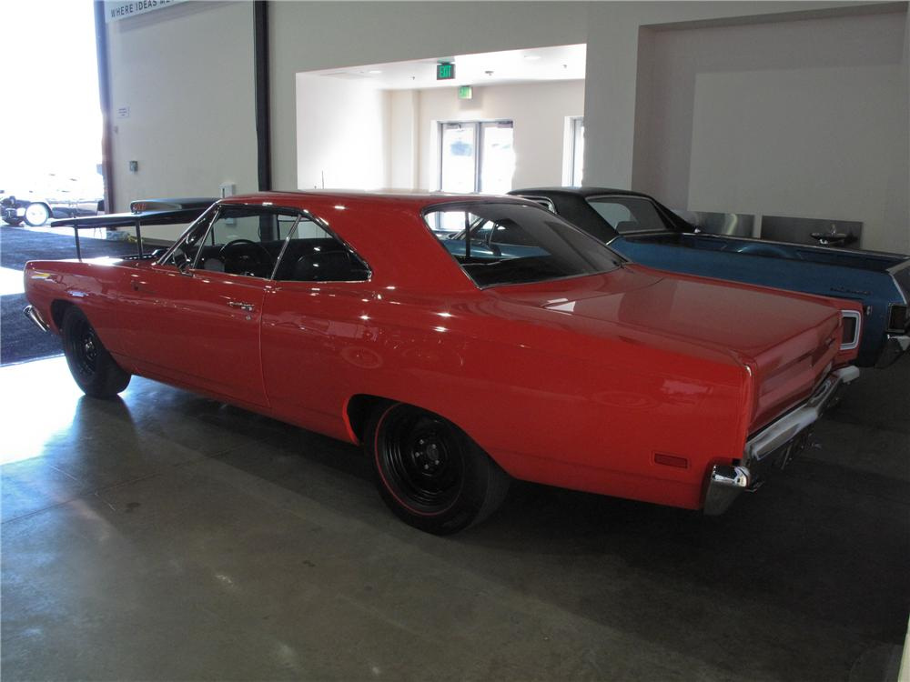 1969 PLYMOUTH ROAD RUNNER 2 DOOR HARDTOP - Rear 3/4 - 108732