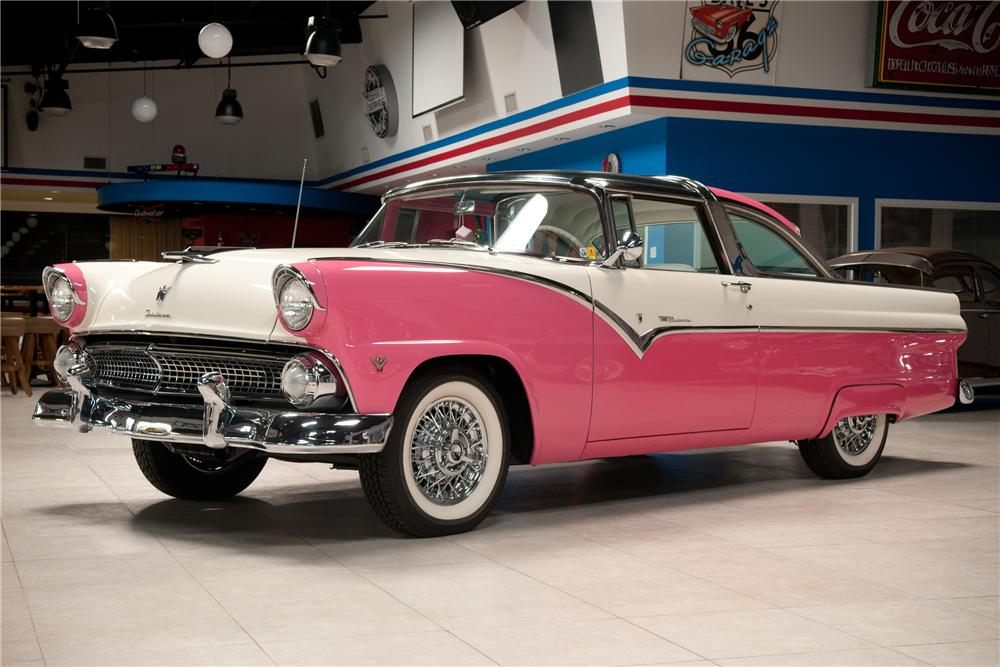 1955 ford crown victoria skyliner 2 door coupe front 3 4 108736. Cars Review. Best American Auto & Cars Review