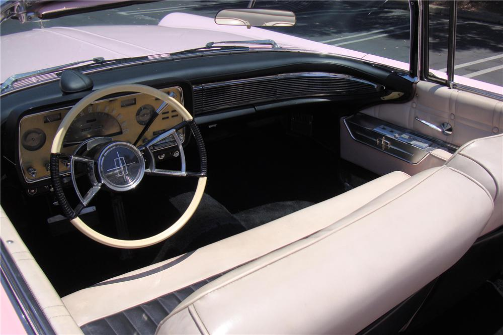 1959 LINCOLN CONTINENTAL MARK IV CONVERTIBLE - Interior - 108953