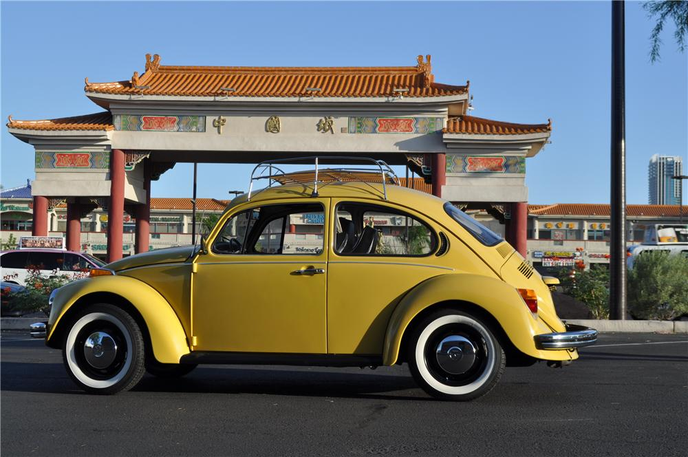 1973 VOLKSWAGEN BEETLE COUPE - Side Profile - 109154