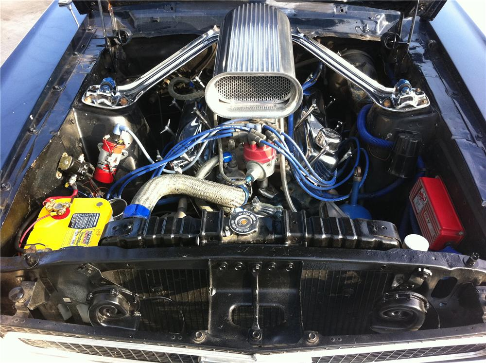 1968 FORD MUSTANG CUSTOM COUPE - Engine - 109193