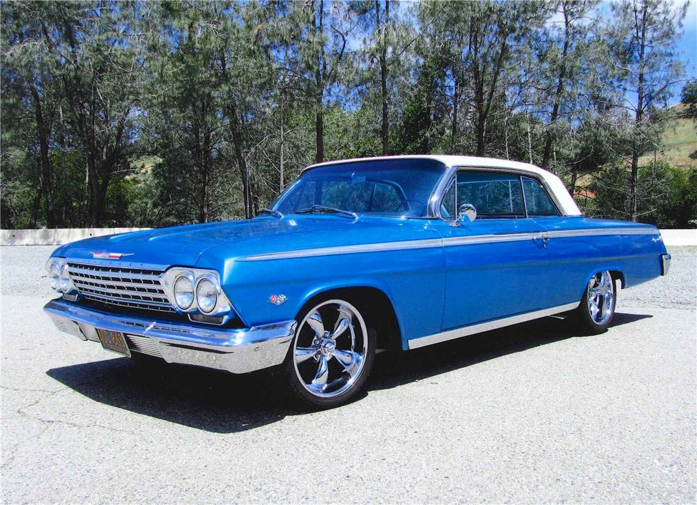 1962 CHEVROLET IMPALA SS 2 DOOR SPORT COUPE - Front 3/4 - 109233