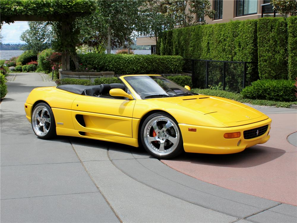 1997 ferrari f 355 spider 109453. Black Bedroom Furniture Sets. Home Design Ideas