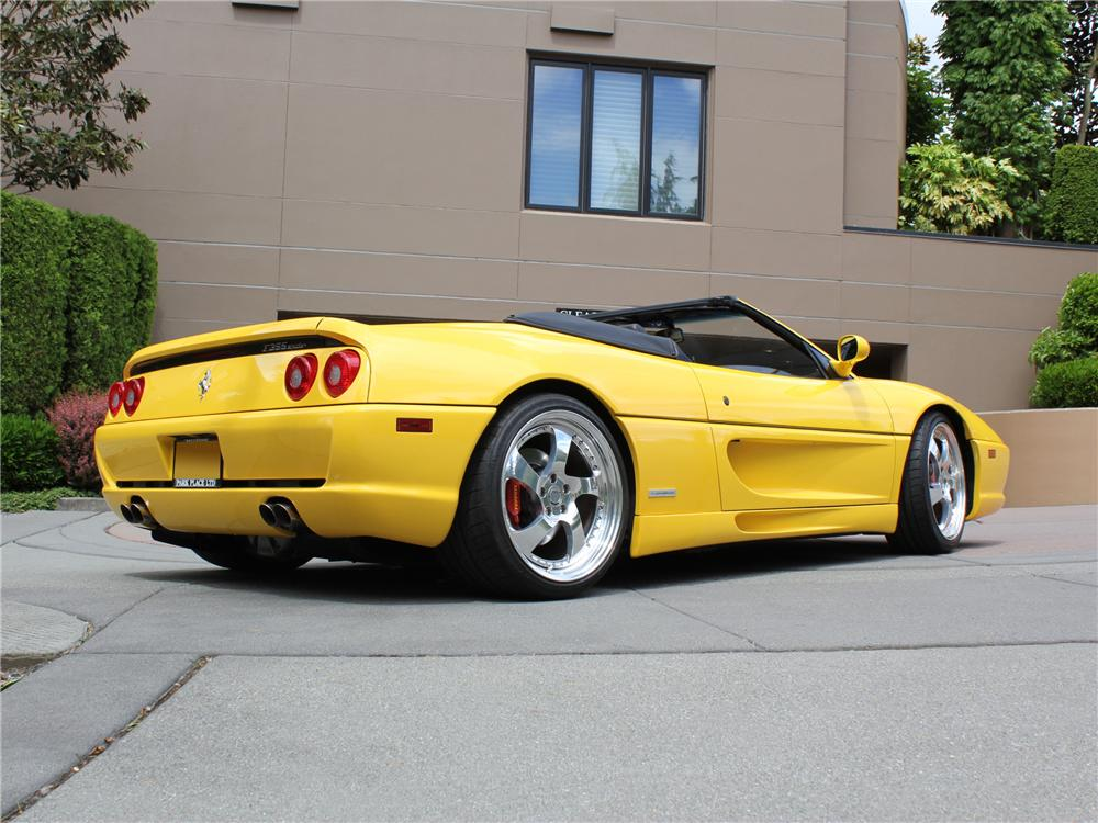 1997 FERRARI F-355 SPIDER - Rear 3/4 - 109453