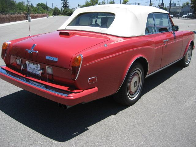 1994 ROLLS-ROYCE CORNICHE CONVERTIBLE - Rear 3/4 - 109773