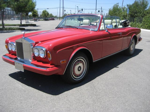 1994 ROLLS-ROYCE CORNICHE CONVERTIBLE - Side Profile - 109773