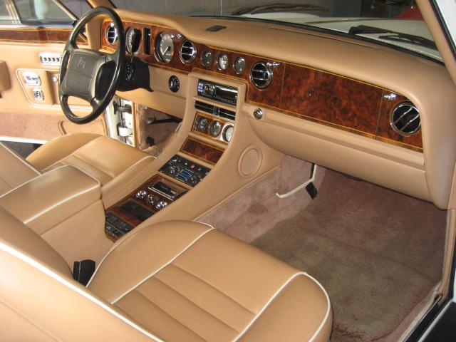 1995 BENTLEY CONTINENTAL 2 DOOR CONVERTIBLE - Interior - 109794